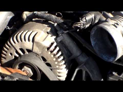How to replace the ALTERNATOR on a FORD EXPLOER 91-2001
