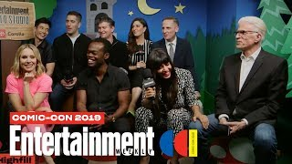 'The Good Place' Stars Kristen Bell, Ted Danson & Cast LIVE | SDCC 2019 | Entertainment Weekly