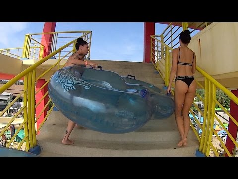 Amazing Toilet Water Slide at Splash Jungle Water Park