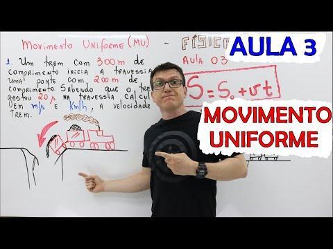 MOVIMENTO UNIFORME (MU) - FÍSICA BÁSICA (FÍSICA do ZERO) - Teoria e Exercícios - AULA 03