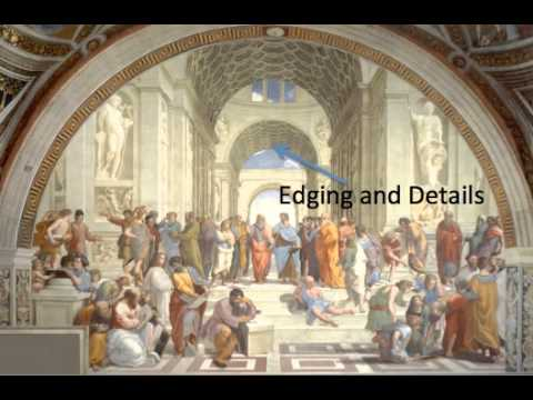 Perspective in Raphael's School of Athens