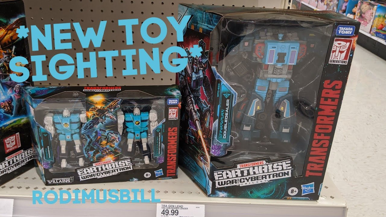 Earthrise Doubleder and Pounce & Wingspan IN STOCK Sightings By Rodimusbill