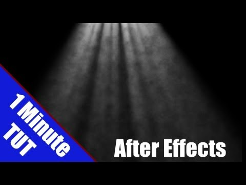 Animated Sun Rays After Effects 1 Min Tutorial