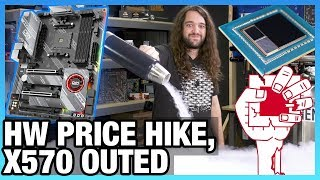 HW News - X570 Chipset Outed, Hardware Prices Rising, & NVIDIA Lawsuit