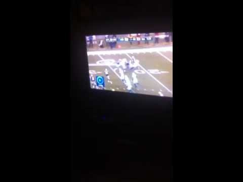 Colts Vs Patriots Crazy tackle