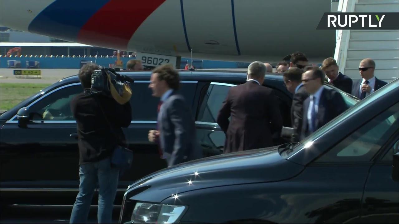 Путин прибывает в Хельсинки на переговоры с Трампом