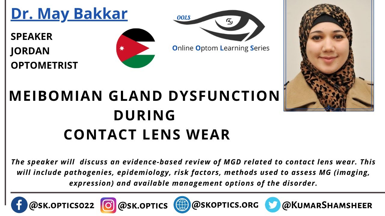 Meibomian Gland Dysfunction during Contact Lens​ Wear | OOLS |