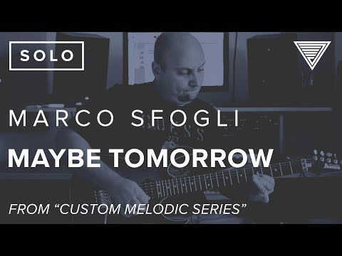Marco Sfogli's 'Maybe Tomorrow' | JamTrackCentral.com