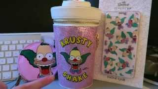 Skinny Dip x Simpsons Review - iPhone 6 Plus Krusty the Clown Case & Shake Bag / Coin Purse