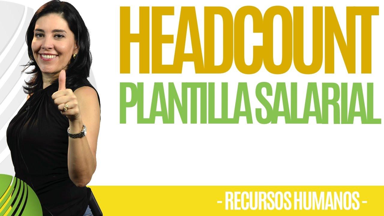 Download Recursos Humanos HEADCOUNT PLANTILLA SALARIAL (Funciona) Ana María Godinez Software de RRHH