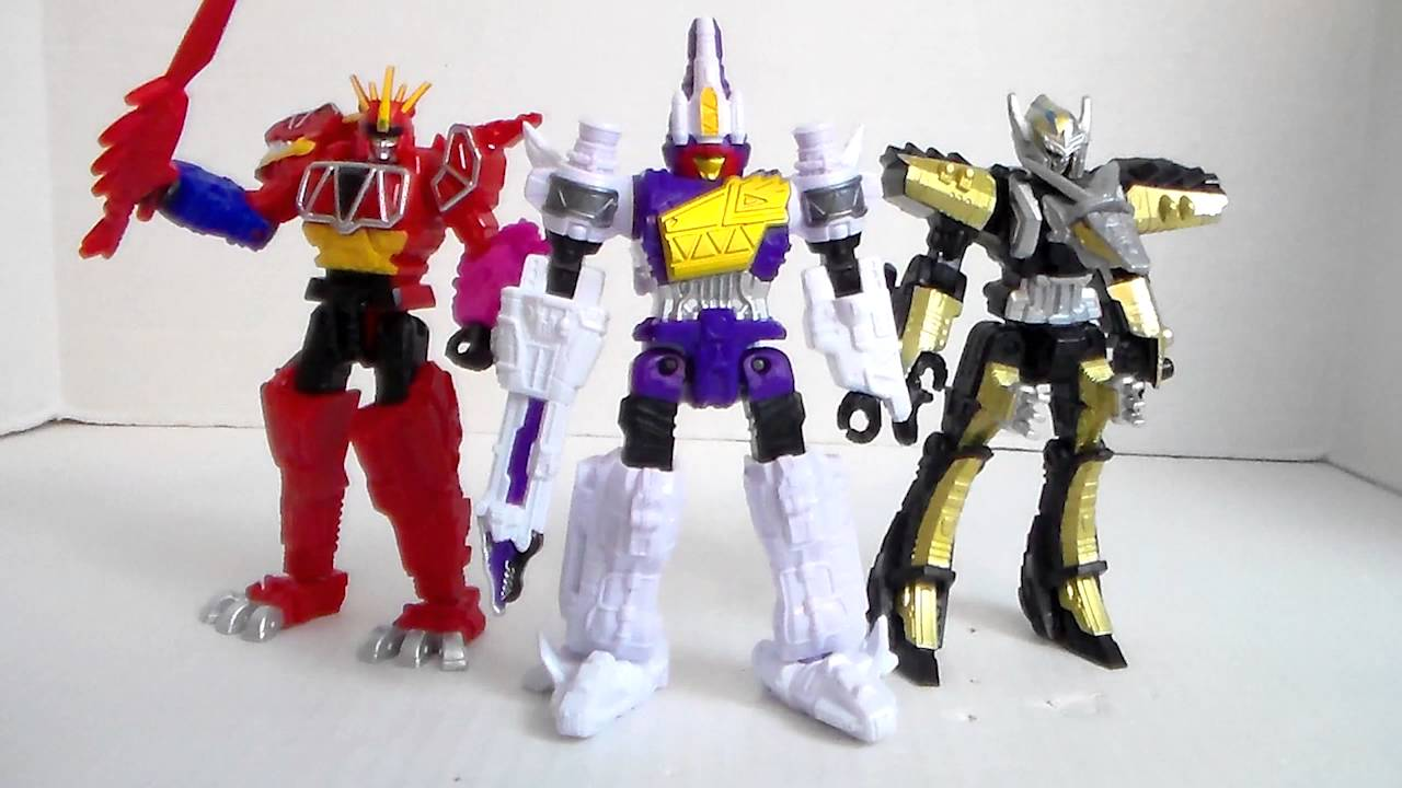 Power Rangers Dino Super Charge 5 Plesio Charge Megazord Action Figure