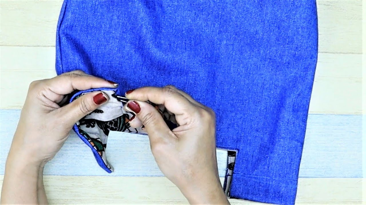 How To Make 2 in 1 Easy Multipurpose Bag From Jeans | Old Jeans Reuse | Old Cloth Reuse