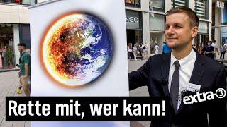 Schlegl in Aktion – Gemeinsam den Klimawandel stoppen