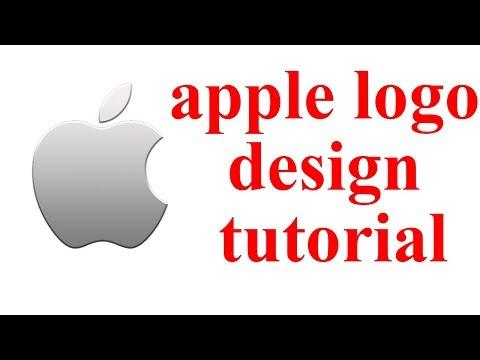 apple logo Design tutorial   Famous Company Logo design  How to make create apple logo  thumbnail