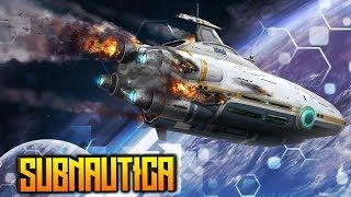 Падение Авроры Subnautica – Видео дневники выжившего – Субнатика пилотная серия #0