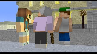 Player School: Helping (Minecraft Animation)