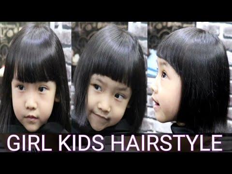 Potong Rambut Anak Perempuan