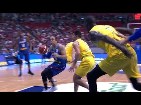 Australia def. Gilas Pilipinas, 89-53 in Fight-marred Game (REPLAY VIDEO) July 2 | FIBA World Cup Asian Qualifiers