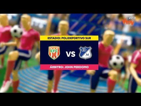 Envigado vs Millonarios - Mejores jugadas Fecha 1- Liga Aguila I 2019
