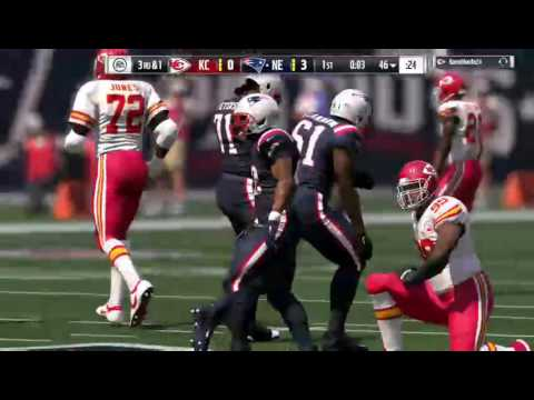MADDEN 17 MUT Full Game CJ Anderson is a beast
