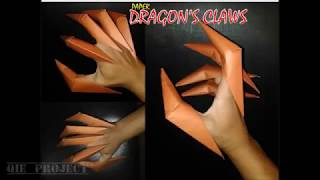 Origami Easy - How to make Dragon Claws - tutorial