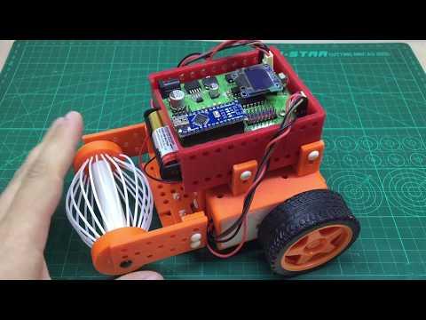 3D печатная робототехника на Arduino: эксперимент №3 «Комбайн»