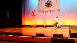 Kaushik - Nived dance for New England Tamil Sangam