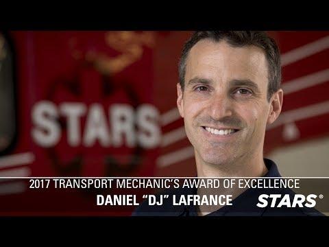 2017 TRANSPORT MECHANIC'S AWARD OF EXCELLENCE Recipient - DJ LaFrance!