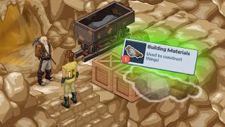 Building Materials for the Mines
