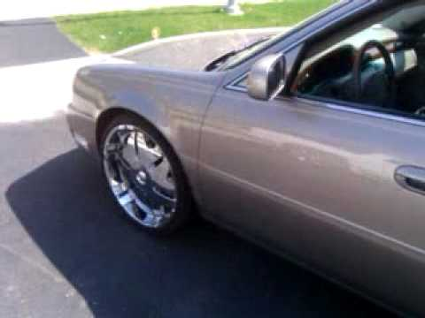 2000 Cadillac Deville On 22 S Youtube