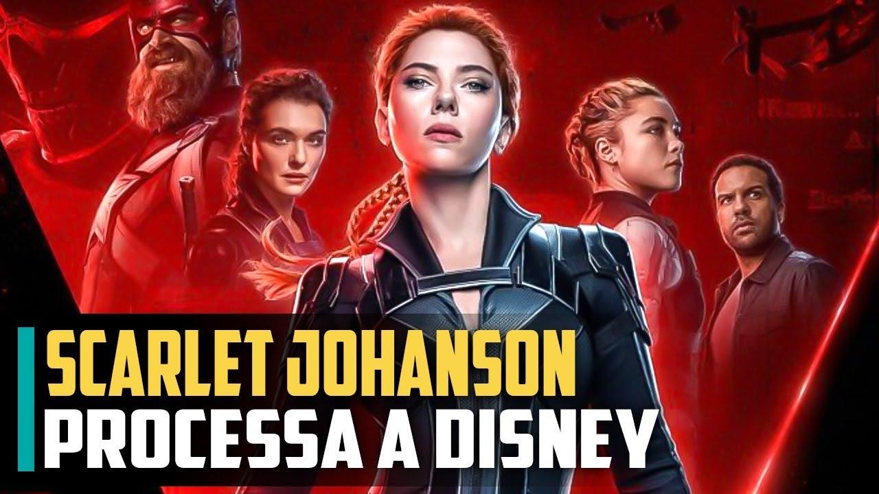 Scarlett Johansson PROCESSA A DISNEY por causa de Viuva-Negra