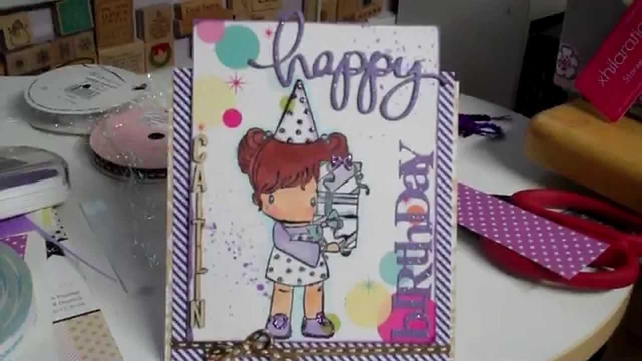 Birthday Card For My Lil Sister Caitlin