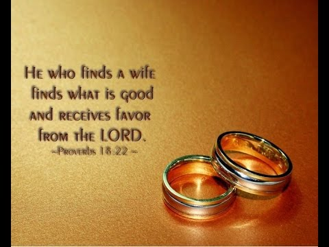 Bible Quotes For Wedding Wedding Anniversary Wishes  Bible Verses For Wedding  Youtube