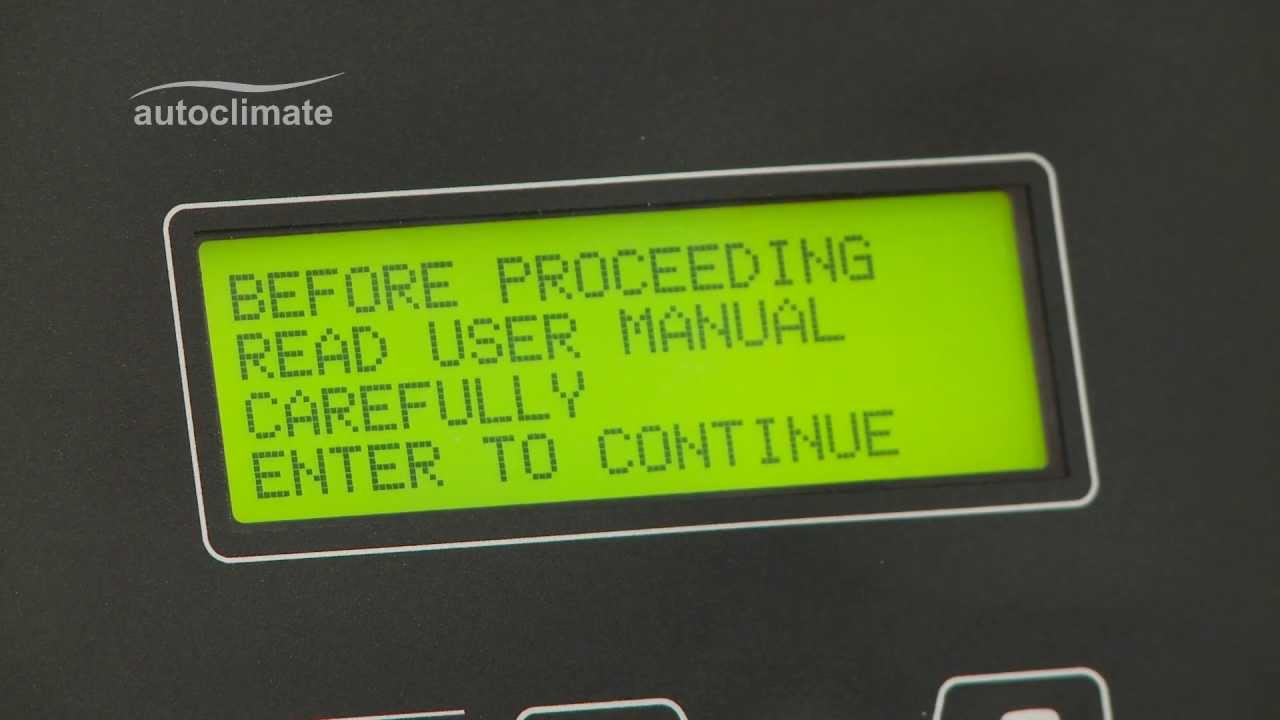 Robinair Ac690 Pro Ac System Diagnostics Youtube Unit Wiring Diagram