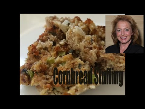 Old Fashioned Sausage and Cornbread Stuffing - Cornbread and Sausage Dressing Recipe