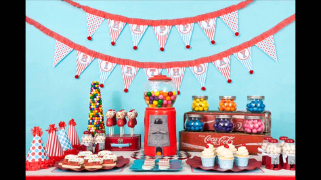 Popular Kids Birthday Party Themes YouTube