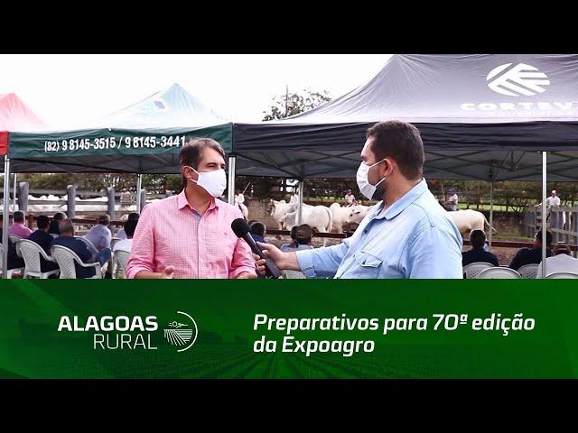 Preparativos para 70ª edição da Expoagro