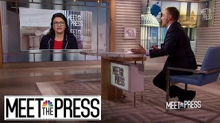 Full Tlaib: House Democrats Are 'Moving Towards' Impeachment Consensus | Meet The Press | NBC News
