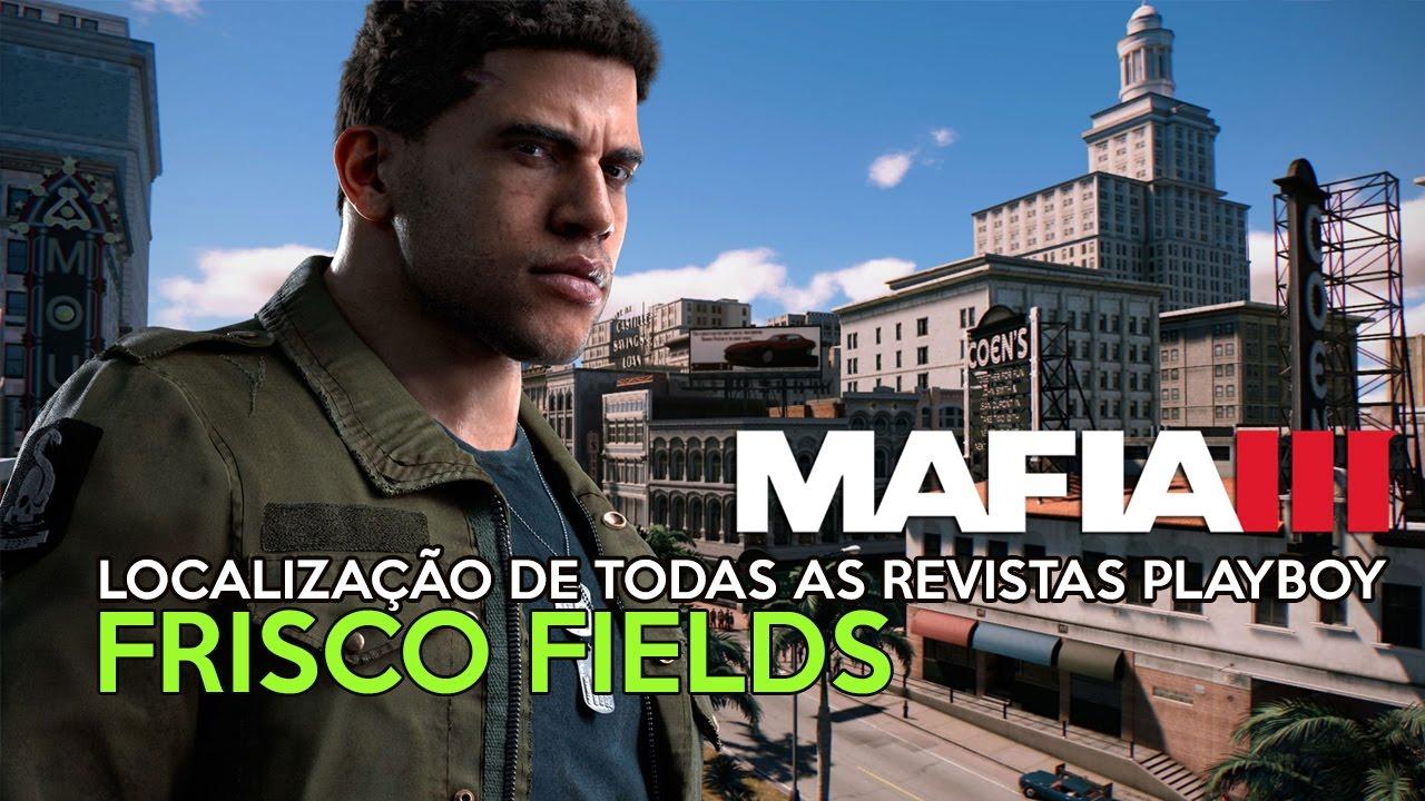 Mafia 3 - Localização de todas as revistas Playboy em Frisco Fields