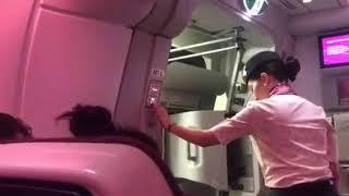 Qatar Airways flight QR909 Sydney to Doha Airpot crew can't close door