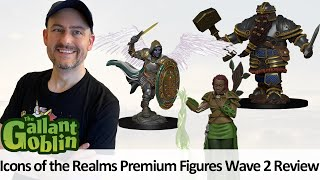 Icons of the Realms Premium Miniatures D/&D Painted Male Human Cleric