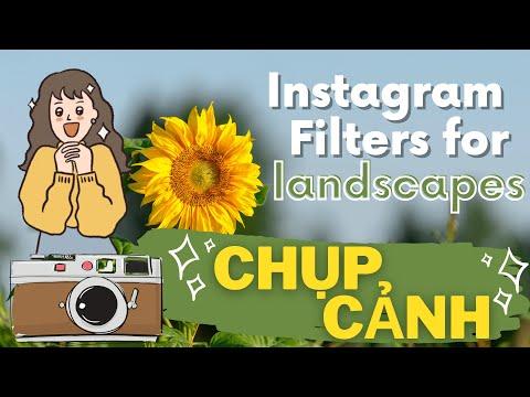 Mê mẩn Filter Instagram CHỤP CẢNH ĐẸP