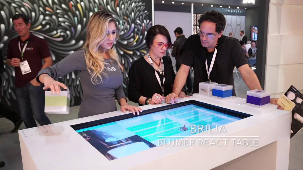 BRILIA   React table