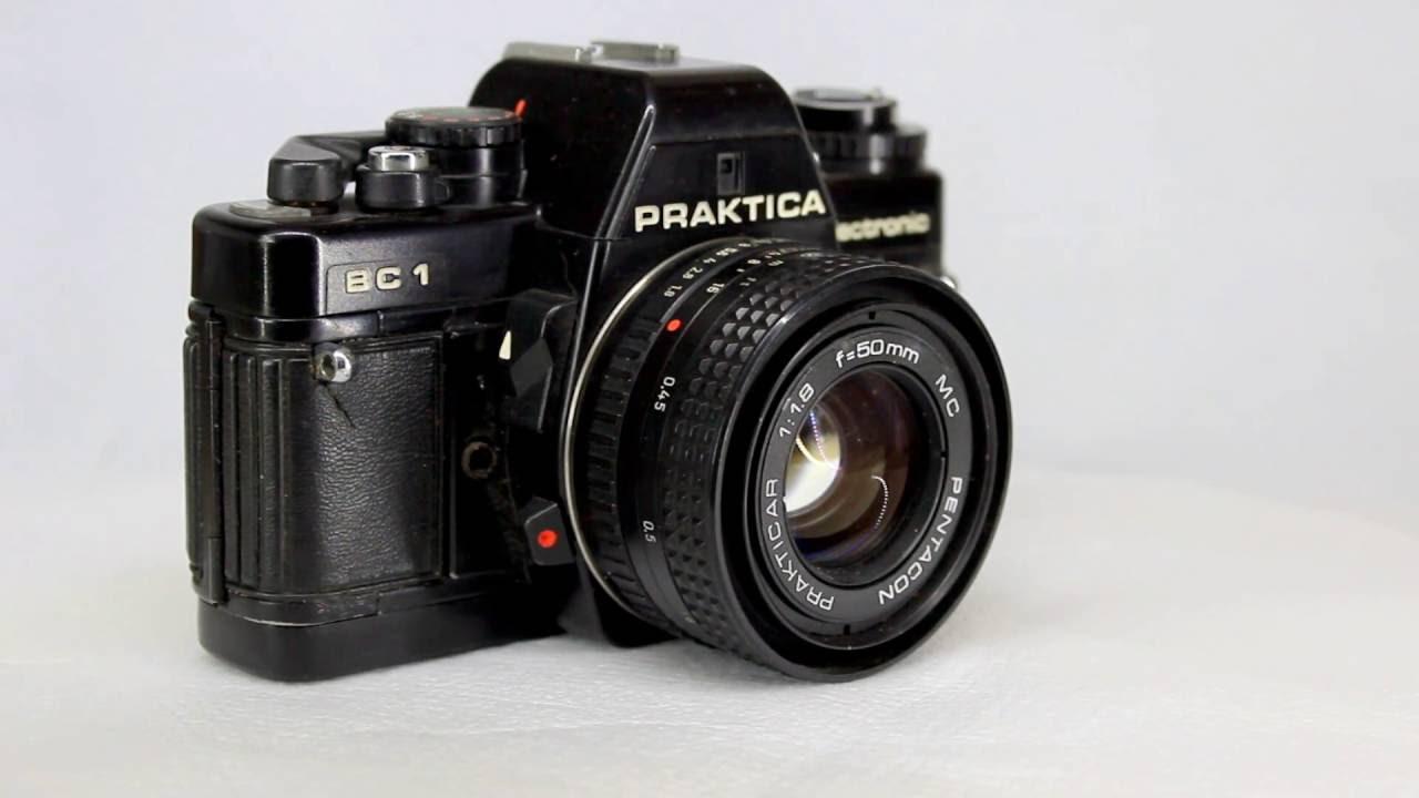 Praktica bc1 35mm slr film camera with 50mm 11 8 lens 06 youtube