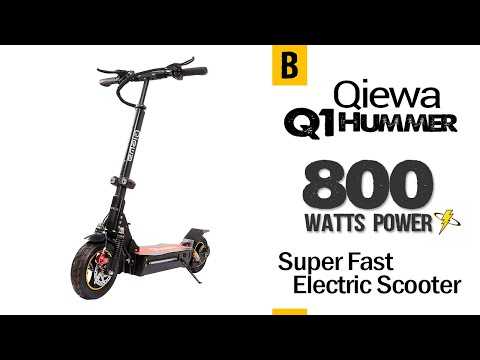 Qiewa Electric Scooter Q1Hummer Vs Q Mini Review. Is Either Worth Your Money? 11