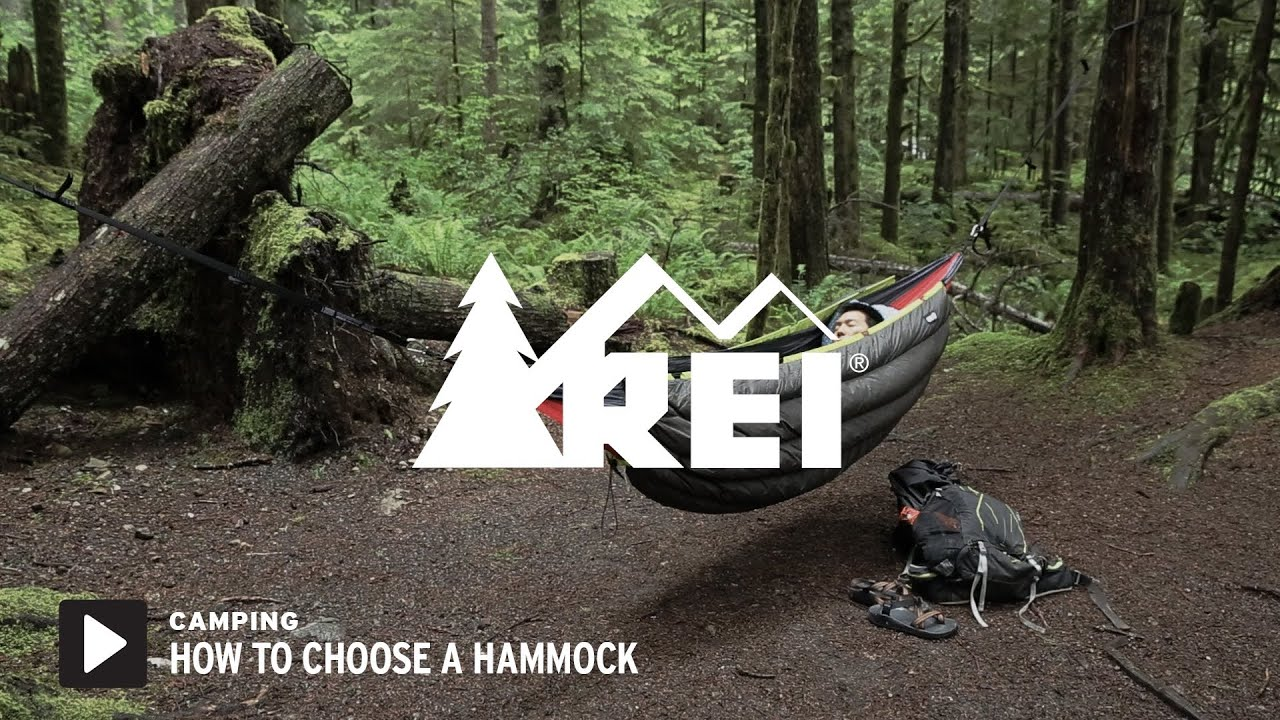how to choose a hammock  rei how to choose a hammock   youtube  rh   youtube