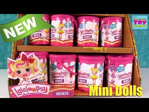 Lalaloopsy Minis Paint Can Dolls Series 1 Blind Bag Opening | PSToyReviews