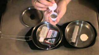 Solo One Person Cook Kit for Bushcraft and Outdoor Activities