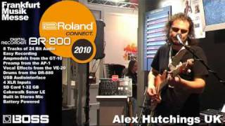 BR-800 Part 2 Digital Recorder Musikmesse 2010 Booth Demo