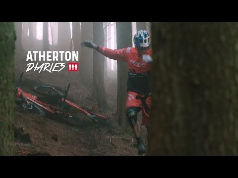 Atherton Diaries: Trail bike crashing, Coda the dog and Skatepark building